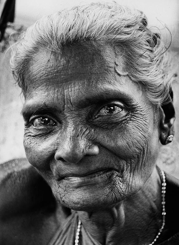 Nærbillede af kvinde